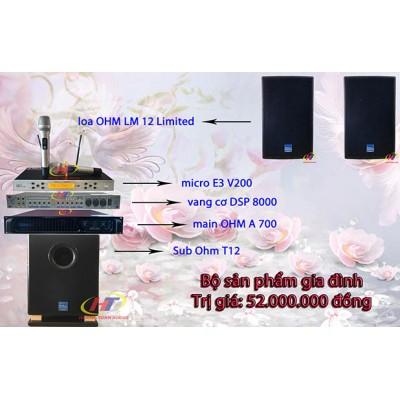 Dàn karaoke gia đình 52 triệu