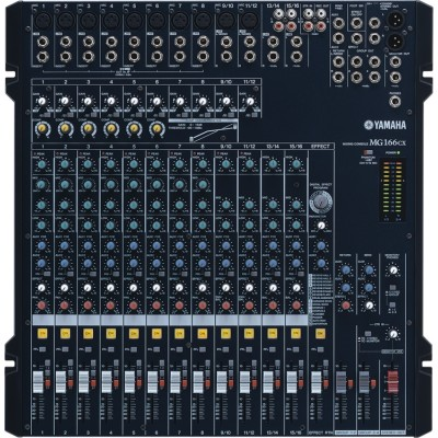 Mixer YAMAHA MG166CX USB
